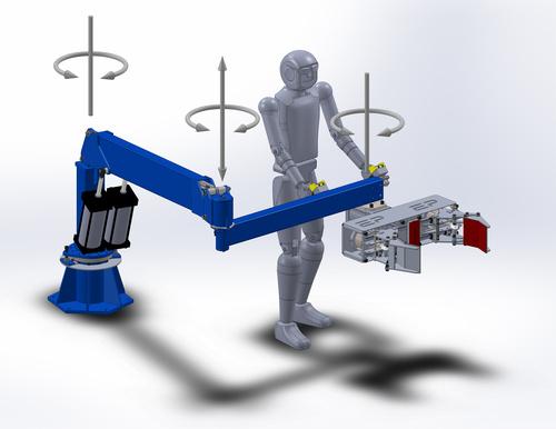 三座标机械手供应商_助力机械手 气动平衡吊-亿思特自动化